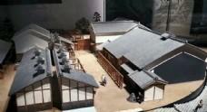 大阪歷史博物館歷史民居模型