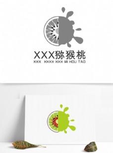 猕猴桃 logo 商标
