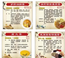 中医中药保养茶