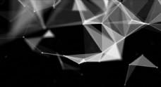 粒子點線特效視頻素材