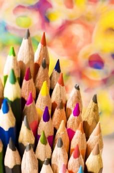 铅笔彩色铅笔画笔