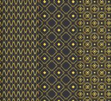抽象金色花纹背景