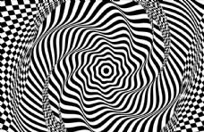 几何螺旋背景