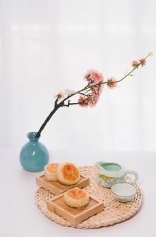 中秋传统美食老月饼
