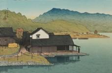 川瀨巴水版画