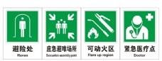 紧急避难标识