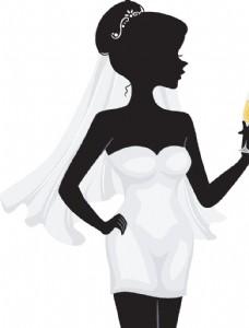 婚庆人物剪影