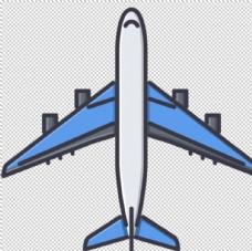 飞机素材图标