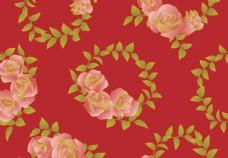 花卉纹理背景