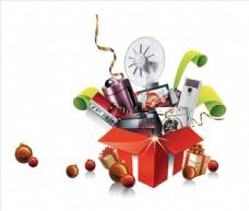 礼品盒素材礼品堆头