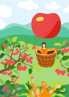 春天里的樱桃