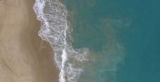 航拍大海的視頻素材