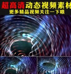 梦幻多彩光线线条歌舞节目视频