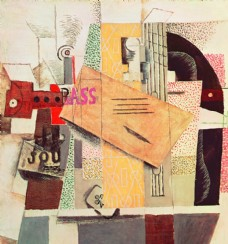 毕加索抽象绘画作品