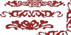 中式 传统 古典 边框  花纹