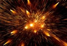 星空爆炸背景图片素材