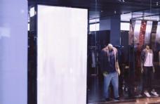 商場燈箱樣機