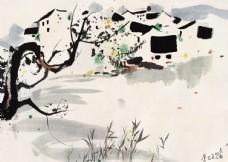 中国风水墨国画