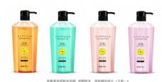 洗发水沐浴露包装设计