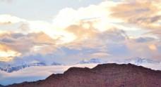 天空 山脉