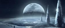 月亮 夜空