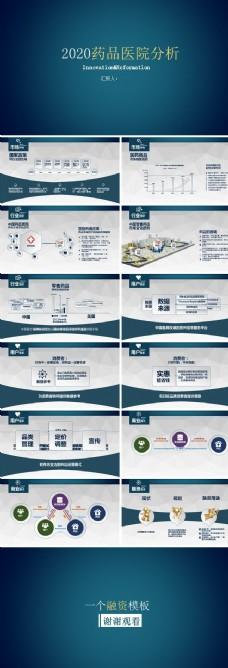 2020药品医院分析PPT